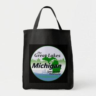 MICHIGAN GROCERY TOTE BAG
