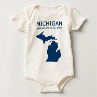 Michigan H5 Baby Bodysuit
