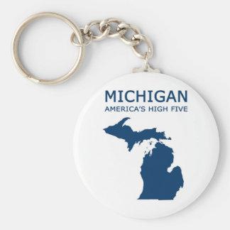 Michigan H5 Key Ring