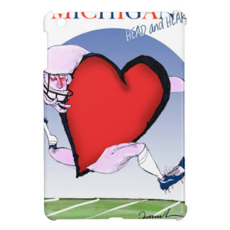 michigan head heart, tony fernandes cover for the iPad mini