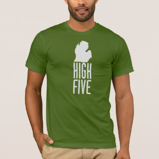 Michigan - High Five T-Shirt