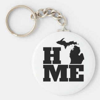 Michigan Home Keychain