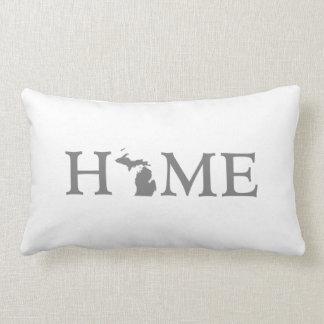 Michigan Home State Lumbar Pillow