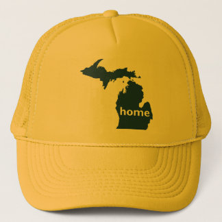 Michigan Home Trucker Hat
