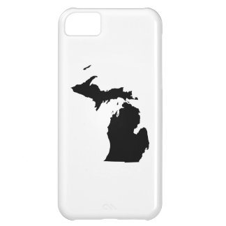 Michigan in Black and White iPhone 5C Case