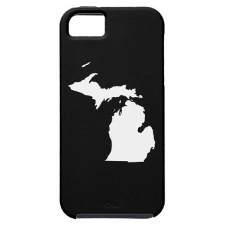 Michigan in White and Black Tough iPhone 5 Case