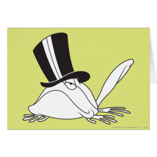 Michigan J. Frog Chill Card