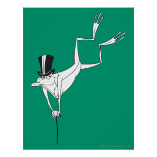 Michigan J. Frog Dacing Moves Poster