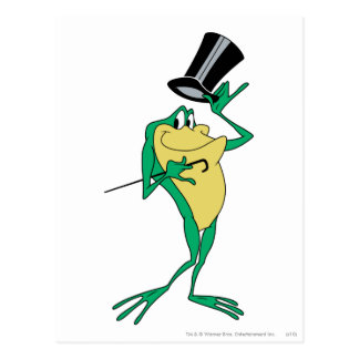 Michigan J. Frog in Color Postcard