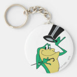 Michigan J. Frog in Colour Basic Round Button Key Ring