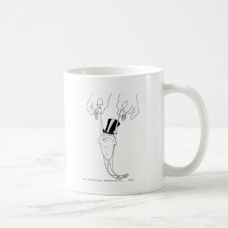 Michigan J. Frog with Help Coffee Mug
