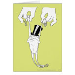 Michigan J. Frog with Help Greeting Card