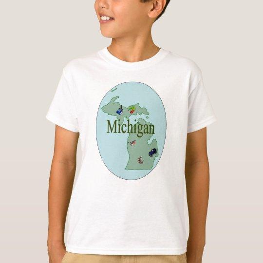 Michigan Kid's T-Shirt