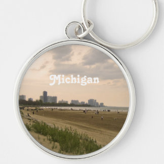 Michigan Landscape Key Ring