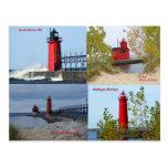 Michigan Lighthouses Postcards
