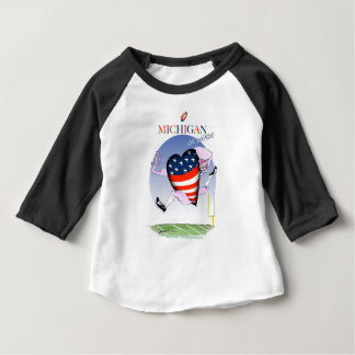 michigan loud and proud, tony fernandes baby T-Shirt