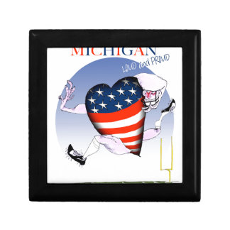 michigan loud and proud, tony fernandes gift box