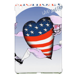 michigan loud and proud, tony fernandes iPad mini case