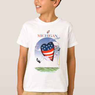 michigan loud and proud, tony fernandes T-Shirt