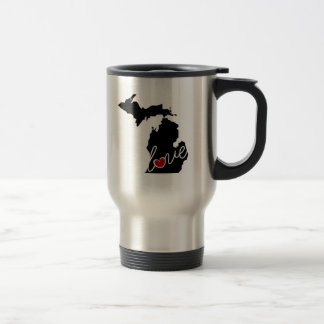 Michigan Love!  Gifts for MI Lovers Travel Mug