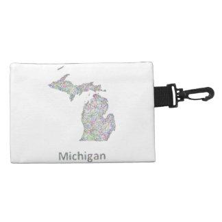 Michigan map accessories bags