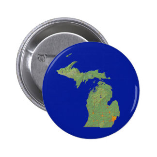Michigan Map Button
