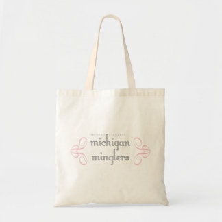 Michigan Minglers Logo Bag