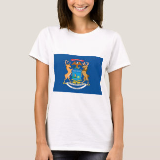 Michigan  Official State Flag T-Shirt