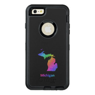Michigan OtterBox Defender iPhone Case