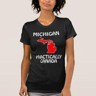 Michigan - Practically Canada Tshirts