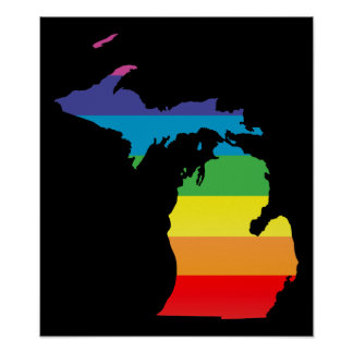 michigan pride. poster