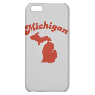 MICHIGAN Red State Case For iPhone 5C