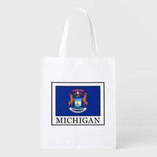 Michigan Reusable Grocery Bag