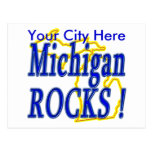 Michigan Rocks ! Post Card