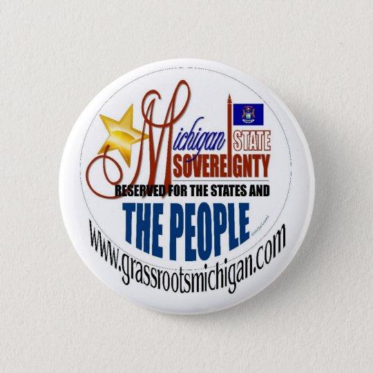 Michigan Sovereignty Button