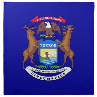 Michigan State Flag American MoJo Napkin