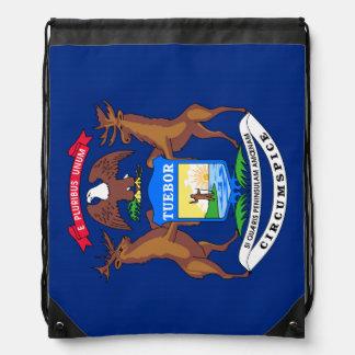 Michigan State Flag Rucksacks