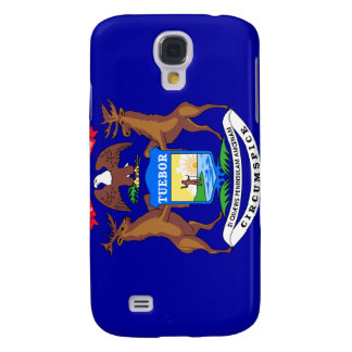Michigan State Flag Samsung Galaxy S4 Case