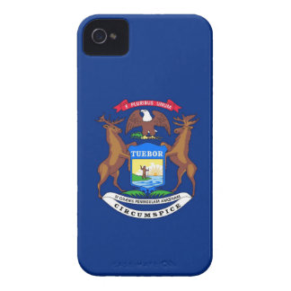 Michigan State Flag Case-Mate iPhone 4 Cases