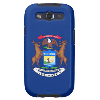 Michigan State Flag Galaxy SIII Cases