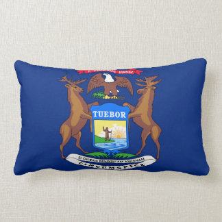 Michigan State Flag Pillows