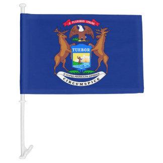 Michigan State Flag Design Car Flag