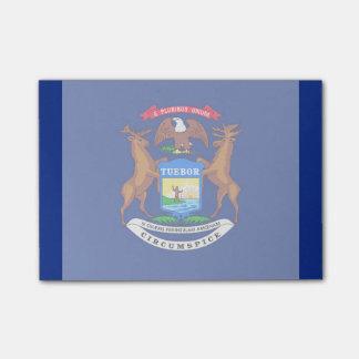 Michigan State Flag Design Post-It Note
