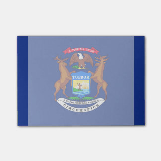 Michigan State Flag Design Post-it® Notes