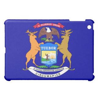 Michigan state flag  cover for the iPad mini
