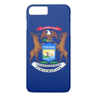 Michigan State Flag iPhone 8 Plus/7 Plus Case