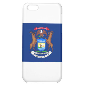 Michigan State Flag Cover For iPhone 5C