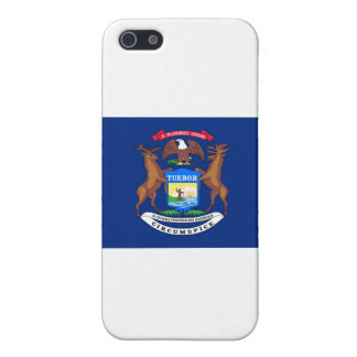 Michigan State Flag Cover For iPhone 5