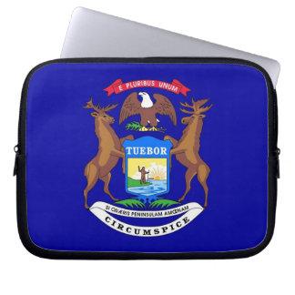 Michigan State Flag Laptop Sleeve