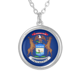 Michigan State Flag Pendant